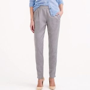 J. Crew Harlow Wool Tapered Pants